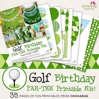 golf party idea:)