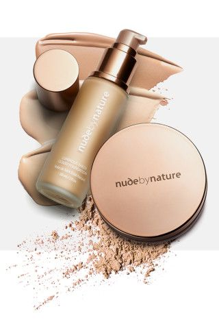 Nude by Nature mineral makeup with no synthetic ingredients