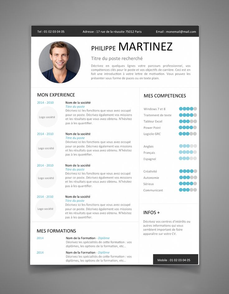 10 best cv images on Pinterest | Curriculum, Resume and Resume cv