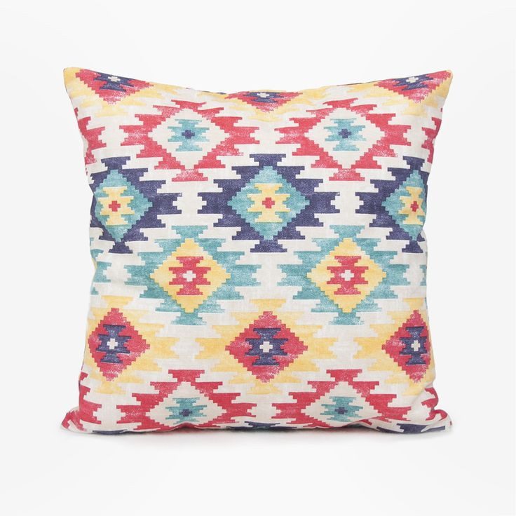 Navajo style / Cojín étnico / Ethnic cushion by Olé mis cojines!