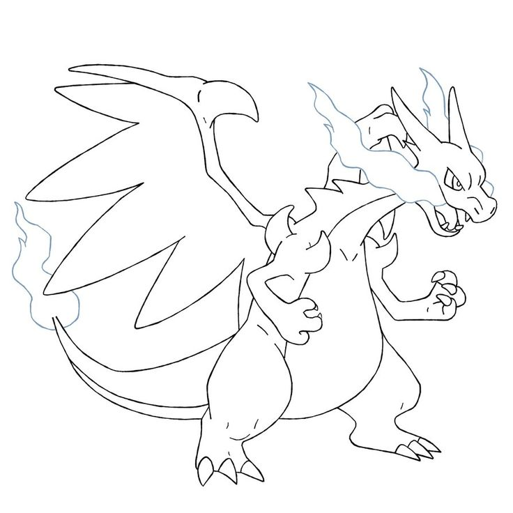 baby charizard coloring pages - photo#15
