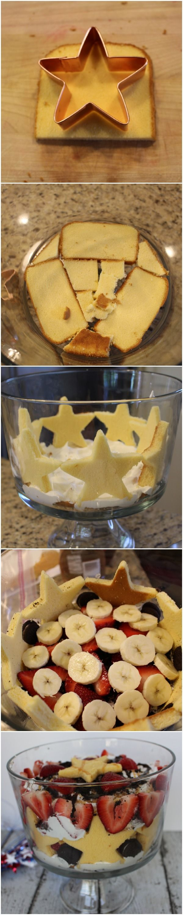 Fourth of July trifle!