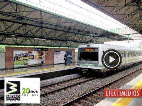 ¡Te invitamos a ver el video del cumpleaños número 20 de operación del Metro de Medellín! http://goo.gl/eIAzQZ