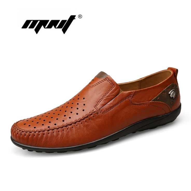 44.25$  Watch now - http://alipop.shopchina.info/1/go.php?t=32648695077 - Handmade Plus Size Men Flats Shoes,Mesh Soft Leather Men Shoes Loafers , High Quality Breathable Driving Shoes, Men Moccasins  #buymethat