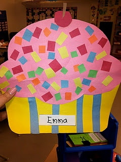 Dreaming of a cupcake writing activity