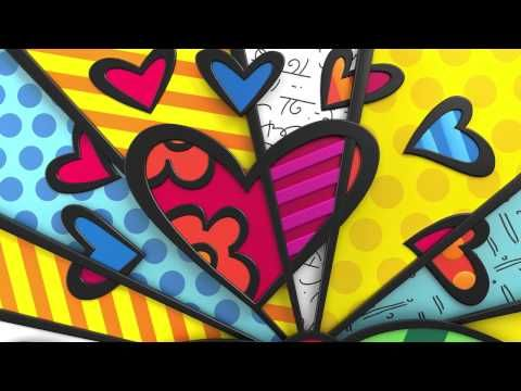 Artist Romero Britto discusses his work and his books - YouTube