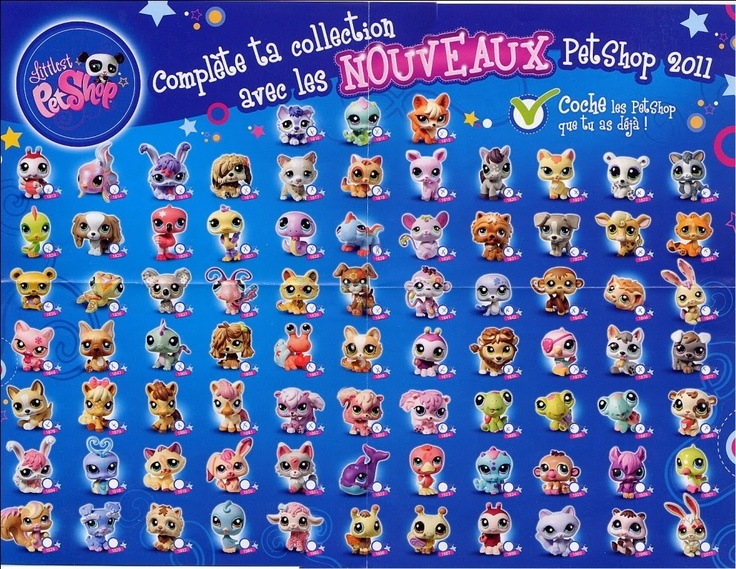 Littlest Pet Shop: Nowa Lista Lps