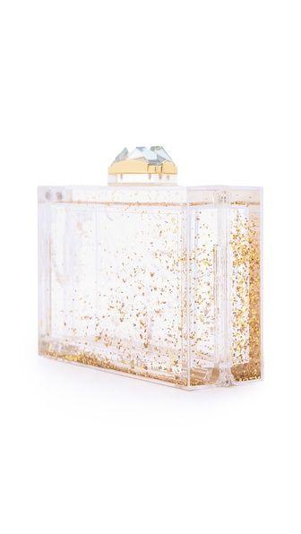 Kotur Glitter Globe Minaudiere