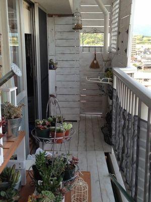 DIY団地・賃貸の狭いベランダをプチリフォーム - NAVER まとめ