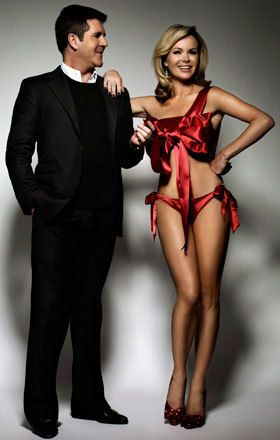 Photo of Amanda and Simon for fans of Amanda Holden. Amanda and Simon are soo cute togther <3