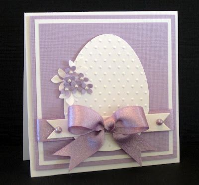 Easter egg card elegantly done!