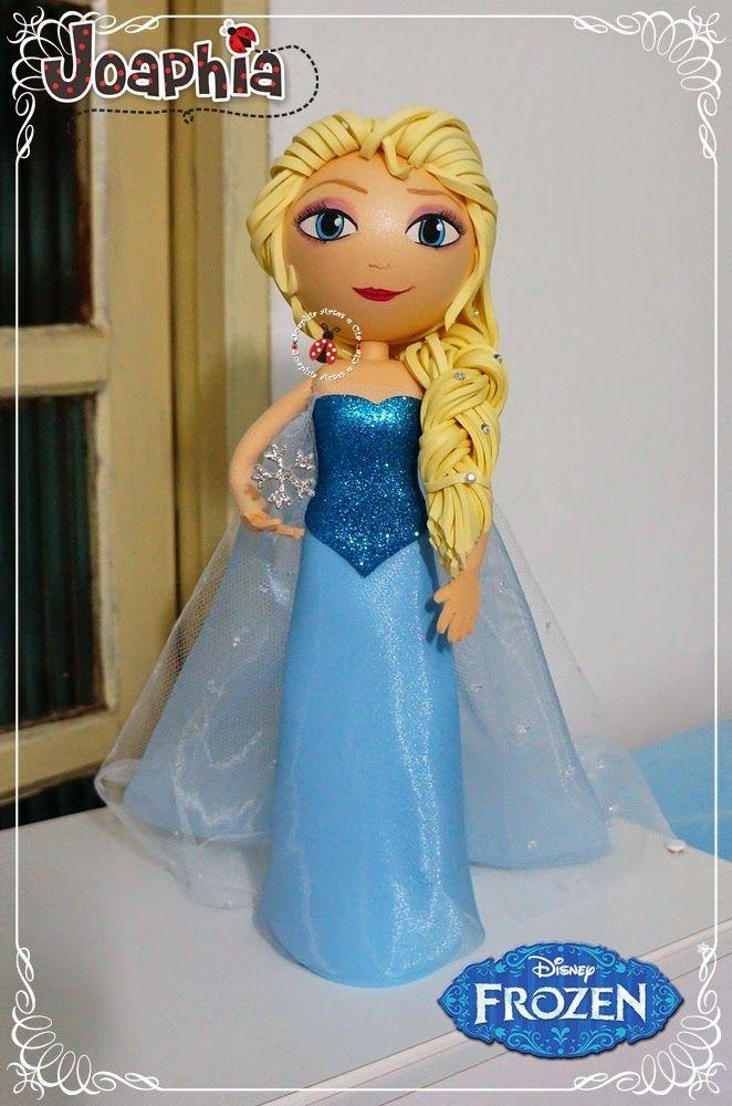 Todo lo que necesitas para tus fofuchas y manualidades está en mitiendadearte.com Frozen fofucha Elsa