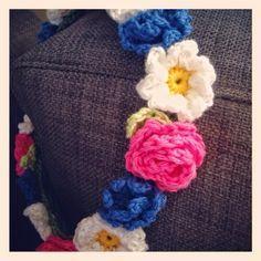 Little Me Crochet: Gratis mönster midsommarkrans