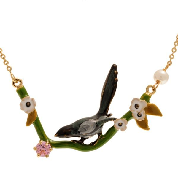 Les Nereides - Magpie necklace Love Persimmon