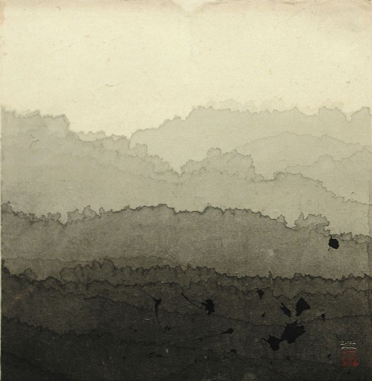 Title: Landscape Artist: Minjung Kim (1962, Korean) Year: 2002 Materials/Techniques: Ink on rice paper #art