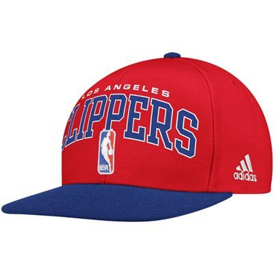 finest selection b6941 47486 adidas Los Angeles Clippers Authentic 2012 NBA Draft Snapback Hat -  Red Royal Blue