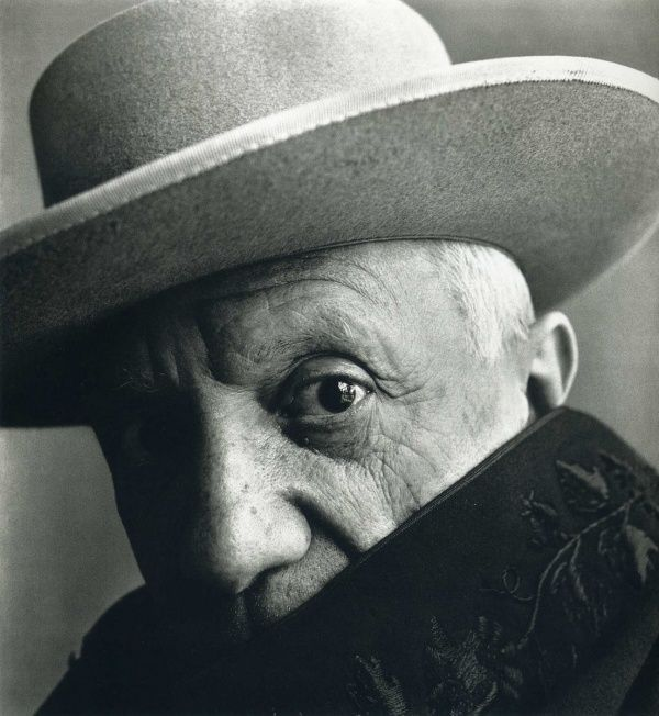 Pablo Picasso by Irving Penn