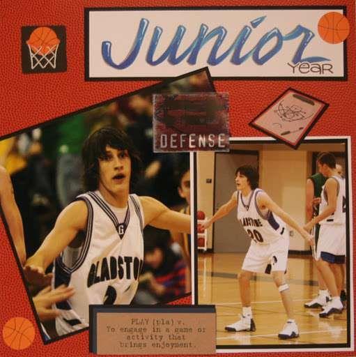 Basketball layout...