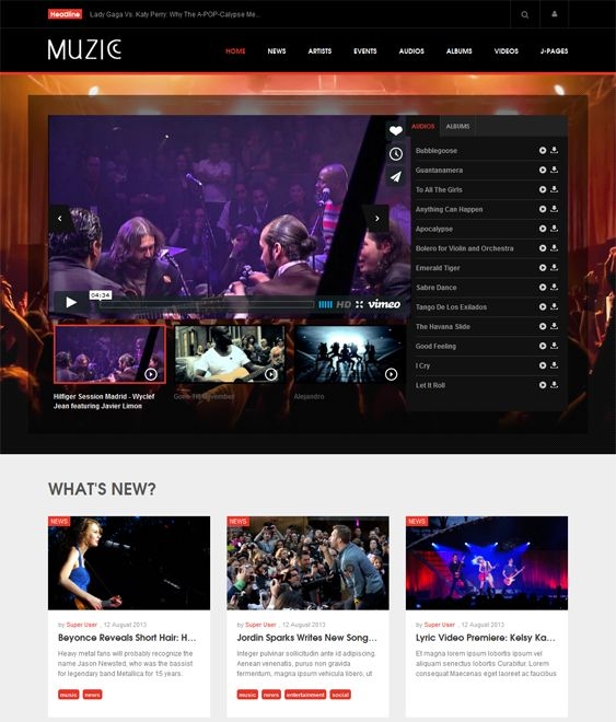 Music Management top best site
