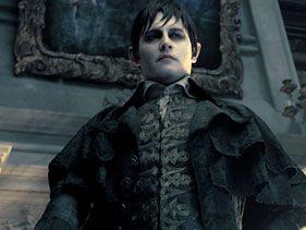 Johnny Depp en Dark Shadows ;)