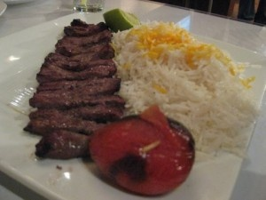 Eat Chelo Kabab @ Cazba North Vancouver