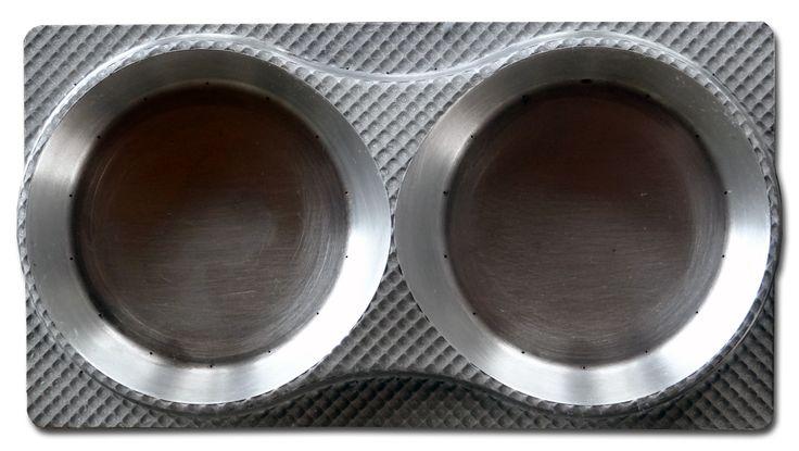 Porta muffin stampo texturizzato con texture a divano trapuntato