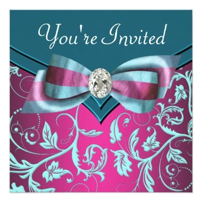 8 best Fuchsia & Teal Wedding images on Pinterest | Fuschia ...