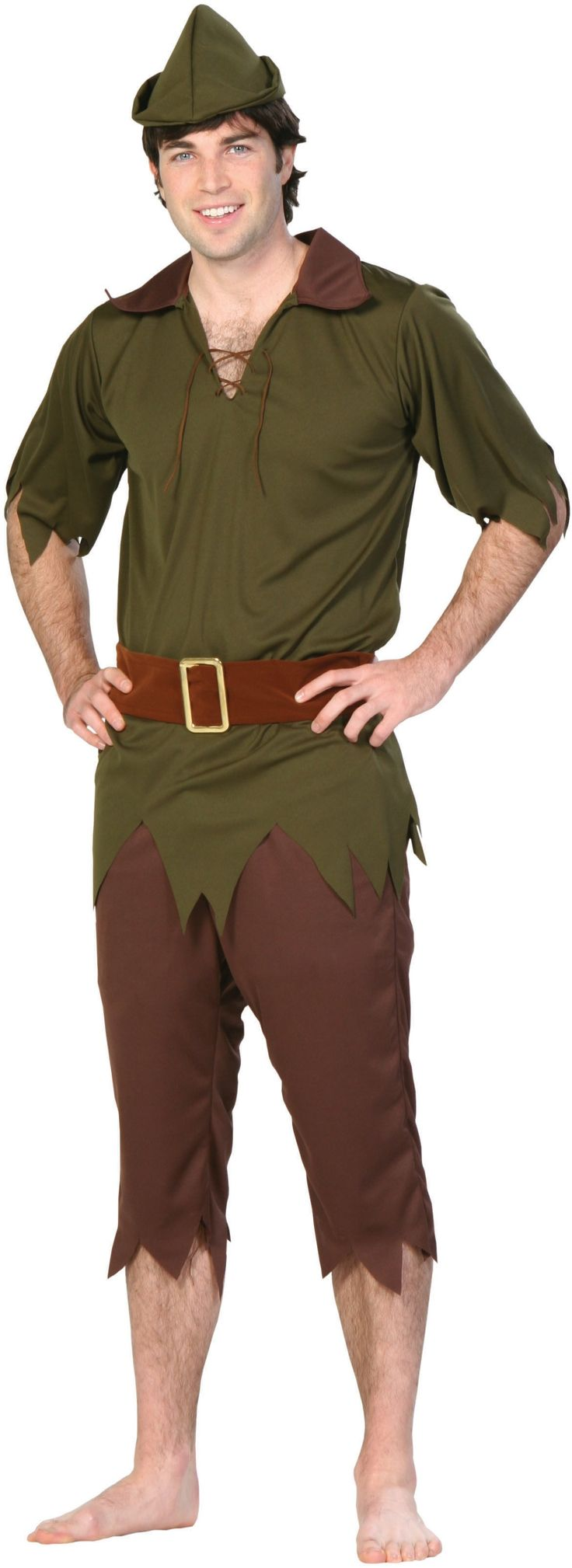 Peter Pan Adult Costume - Oh David is gonna have to get this.....