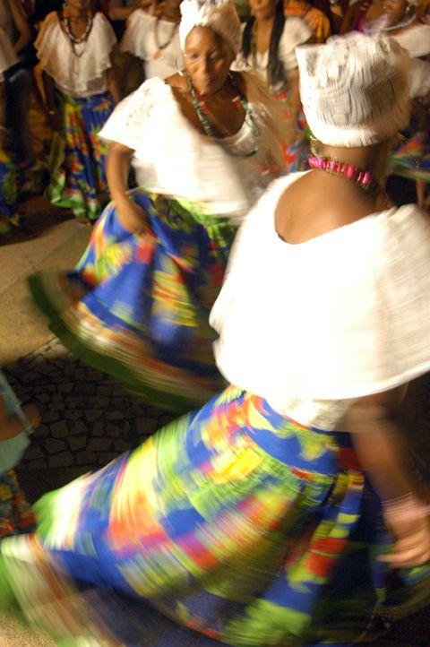 São Luis, Maranhão, Brasil. Danze tradizionali