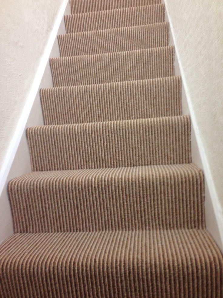 Striped carpet £5.99m2