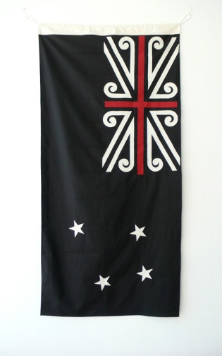 Mike Davison, NZ Flag - I love this.. It has the classic flag that I love with distinct Maori elements... one of the best ones I've seen