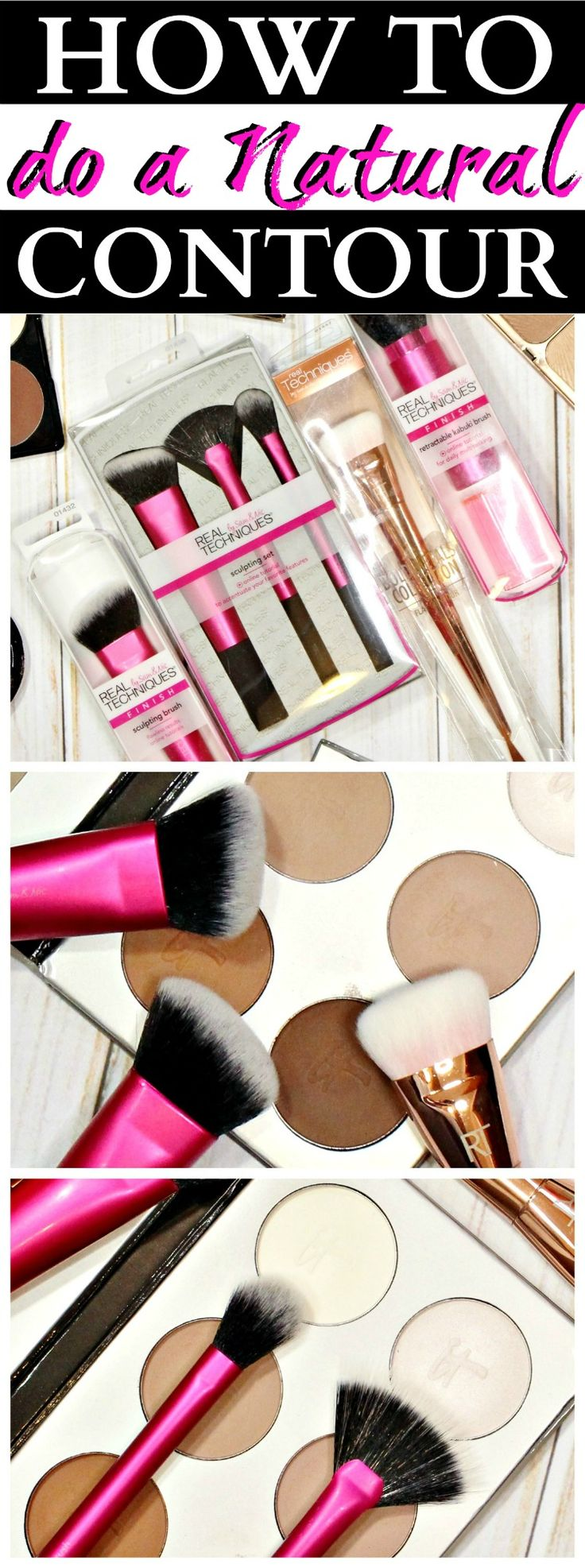 How to Contour NATURALLY using all the right brushes and a lot of blending! #ad #RTSculpt