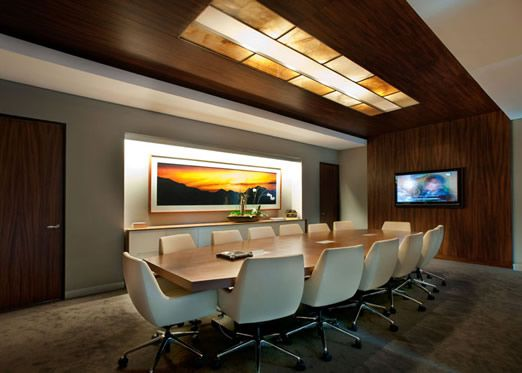 Conference Rooms Minimalist Concept Office Meeting Room