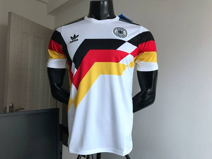 Germany 1990 world cup vintage jersey #germanyretrojersey #germanyvintagefootballshirt #1990germanyjersey