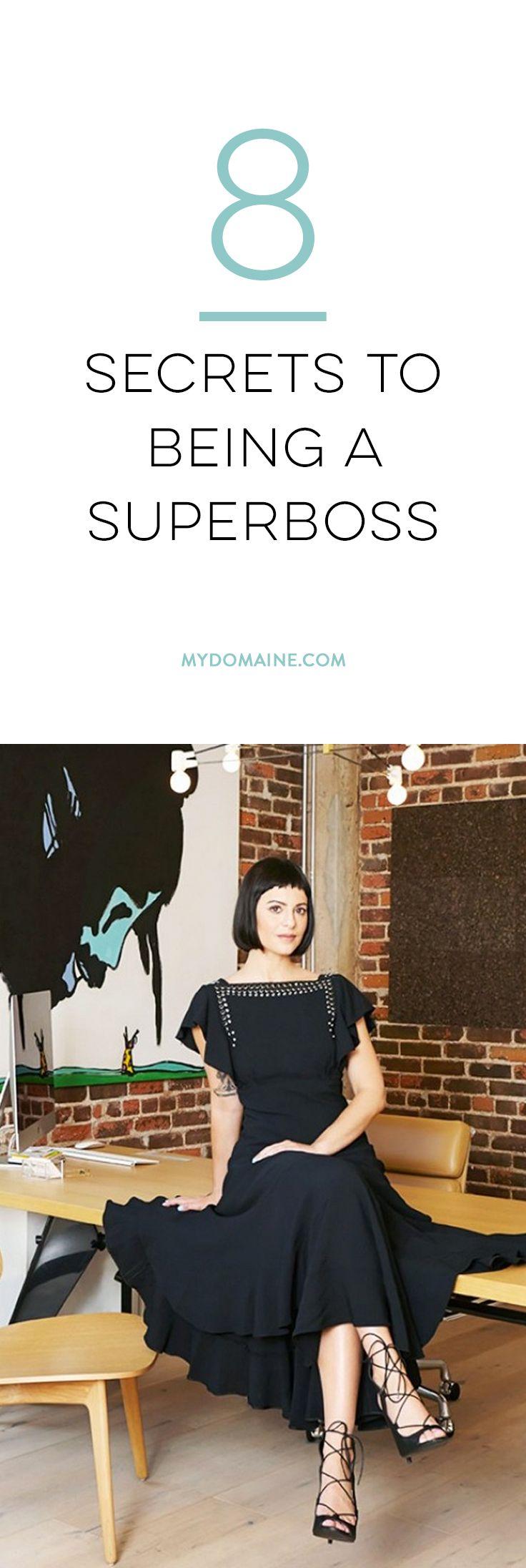 8 Secrets To Being A Superboss
