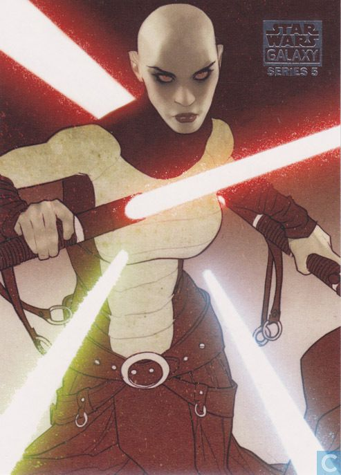 Adam Hughes - Asajj Ventress, Star Wars: Galaxy series #5
