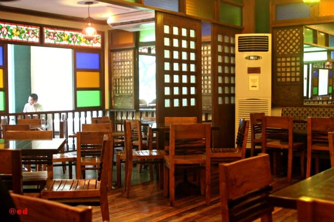 Filipino restaurant interiors