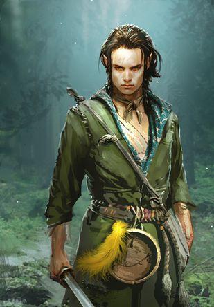 Izzam: meio elfo ladino