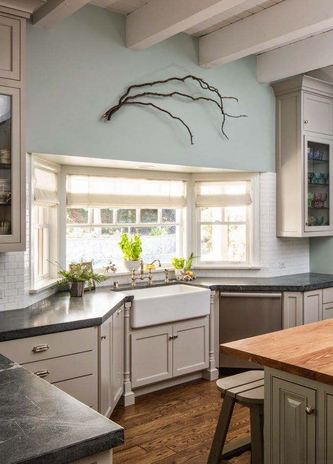 The Best Kitchen Bay Windows Ideas On Pinterest Bay Window - Bay window kitchen
