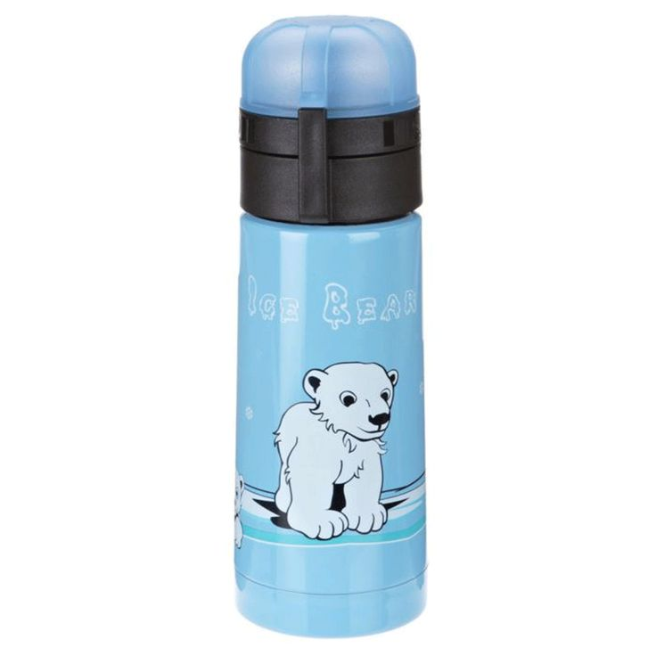 Alfi isoBottle Thermo Isolating Bottle with Drink Sealing, Polar Bear