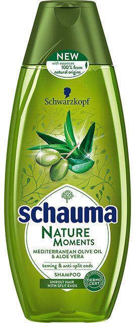 Schwarzkopf Schauma Shampoo Nature Moments Olive & Aloe 400 ml #Schauma