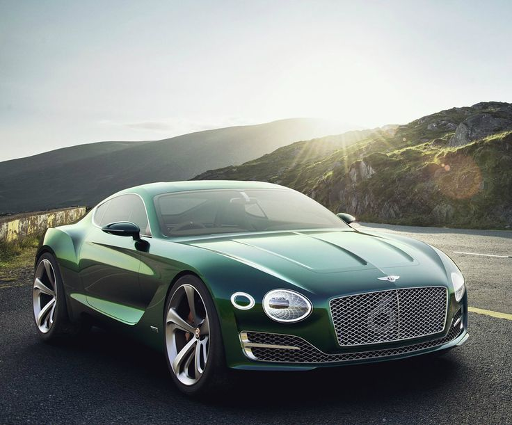 According To Bentley, The Fastback Two Door Could Hint At A Future Sports  Car. Photo
