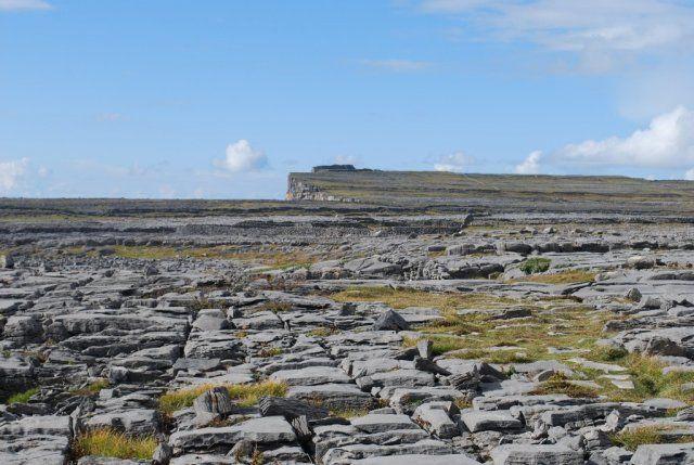Randonnée en direction de Dun Aengus - ile d'Inishmore, Irlande