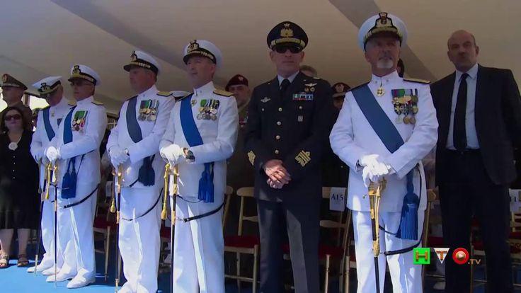 Marina Militare: Avvicendamento tra A.S. Giuseppe De Giorgi e A.S. Valte...