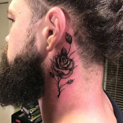 125 Best Neck Tattoos For Men Cool Ideas Designs 2020 Guide Neck Tattoo For Guys Side Neck Tattoo Small Neck Tattoos