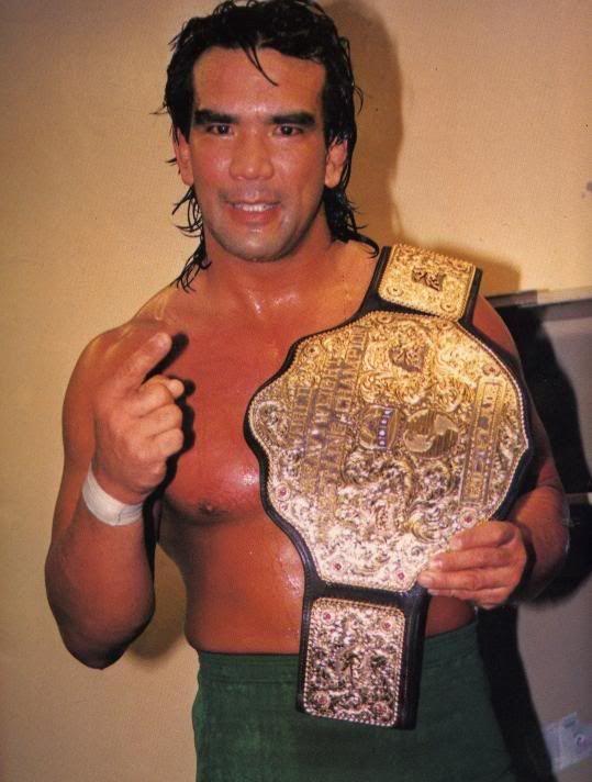 NWA World Champion Ricky Steamboat