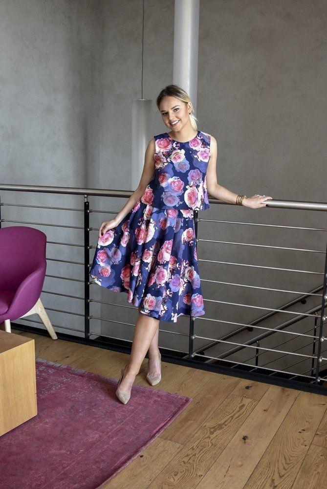 Bluzka Damska W Kwiaty Fashion Womens Fashion Women