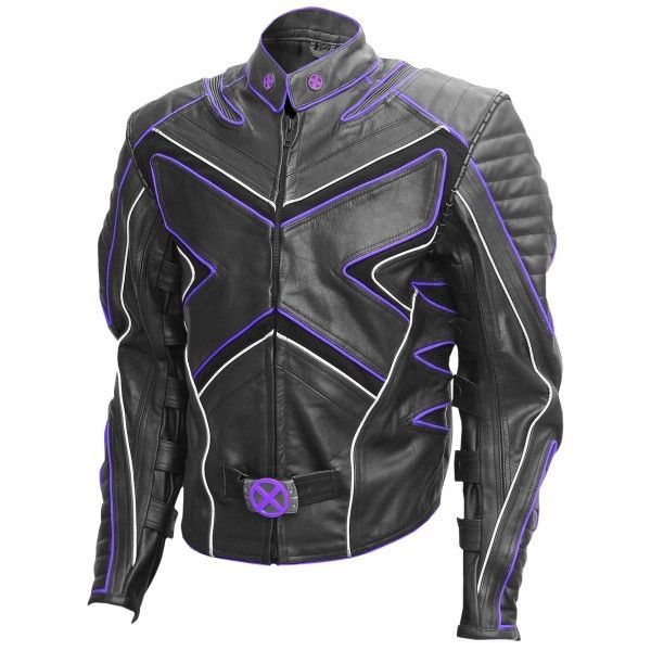 Leather sportbike jackets