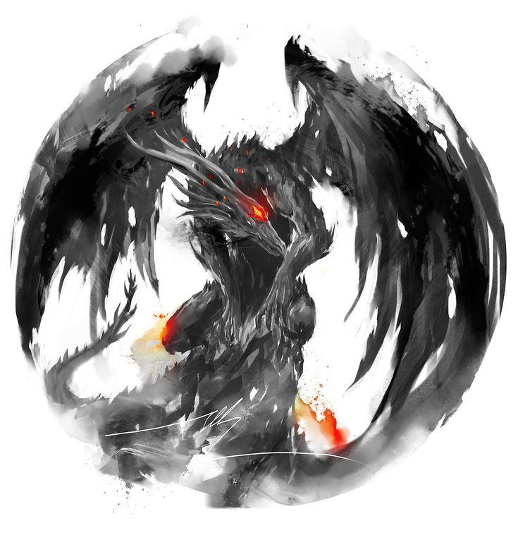 Soulstober Day 14 Black Dragon Kalameet Like and Reblog if you love Darksouls :D MORE