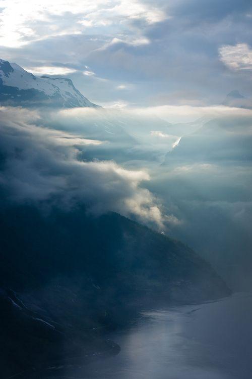 Deep Silence in Geiranger, Norway